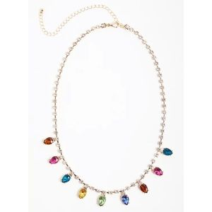 🆕 Gold Tone Holiday Lights Necklace NWT Torrid Christmas New!